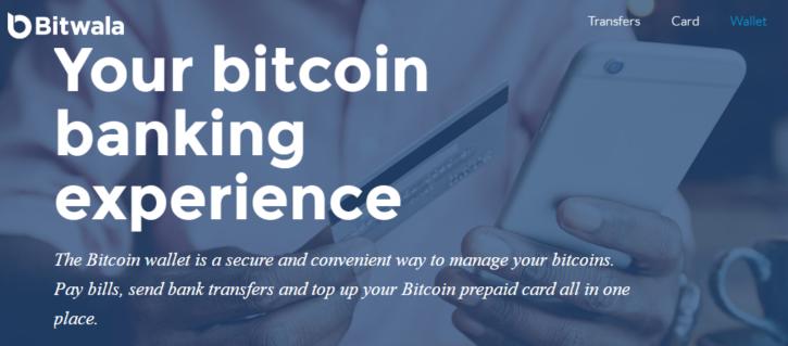 Bitwala blockchain banking experience