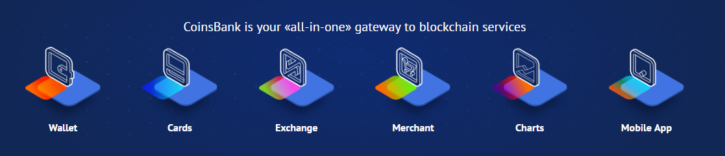 CoinsBank all in one gateway to the bitcoin world