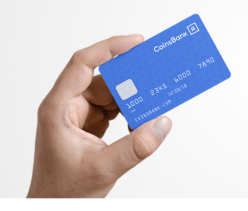 CoinsBank bitcoin debit card