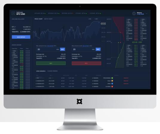 CoinsBank exchange platform