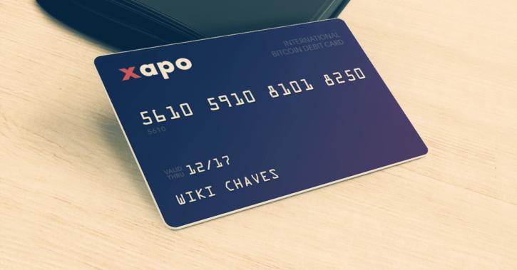 Xapo bitcoin debit card