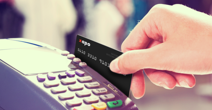 Xapo bitcoin card can be used online and at POS terminals