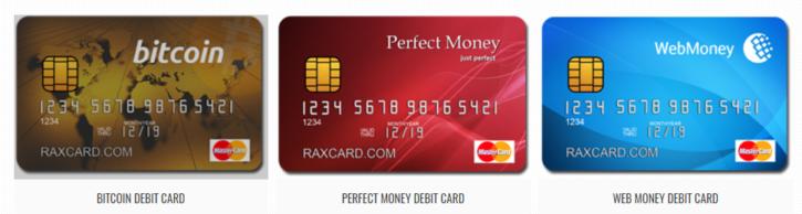 Raxcard cards