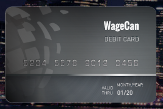 Wagecan card
