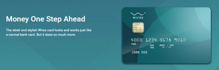 כרטיס חיוב Bitcoin Wirex
