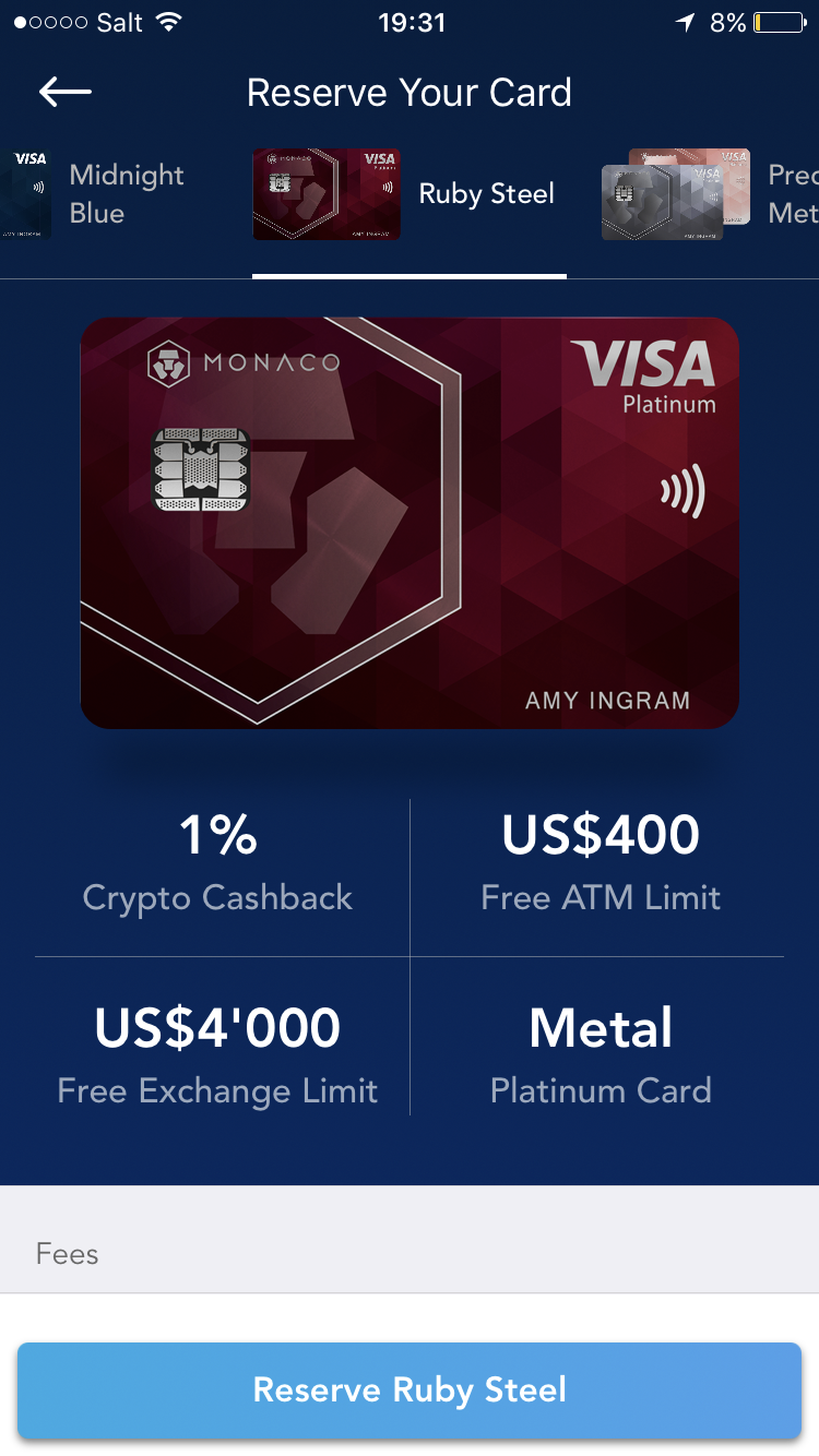 best cryptocurrency debit card