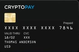 Cryptopay card