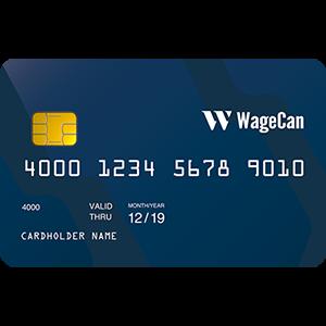 Wagecan Debit card