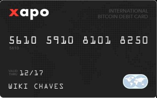 Xapo Debitcard