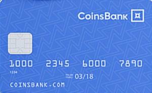 Coinsbank Debitcard